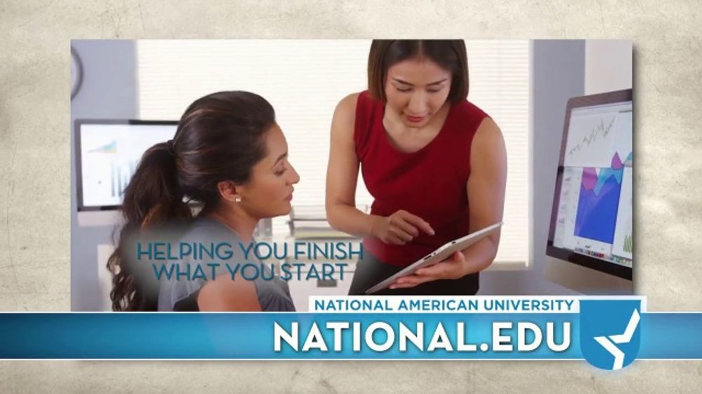 National American University Tv Commercial Make Things Happen Time