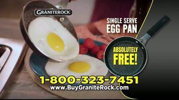 Granite Rock Pan TV Spot, 'Sticky Pans: Free Single Serve Egg Pan'