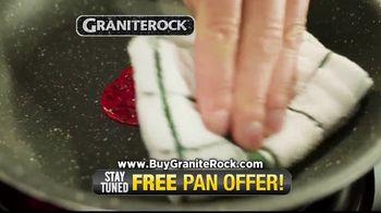 Granite Rock Pan TV Spot, 'Sticky Pans: Free Single Serve Egg Pan' - Thumbnail 3
