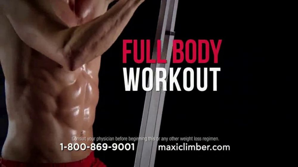MaxiClimber TV Commercial, 'Climb Your Way to a Better You'
