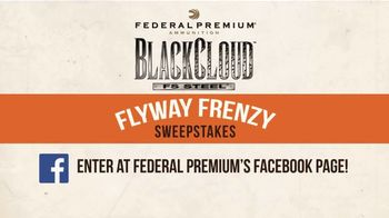 Federal Premium Flyway Frenzy Sweepstakes TV Spot, 'Hunt of a Lifetime!' - Thumbnail 8