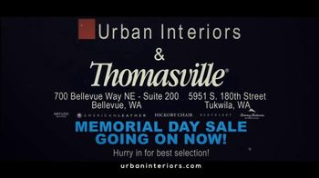 Urban Interiors & Thomasville Memorial Day Sale TV Spot, 'All on Sale' - Thumbnail 10