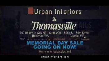 Urban Interiors & Thomasville Memorial Day Sale TV Spot, 'All on Sale' - Thumbnail 9