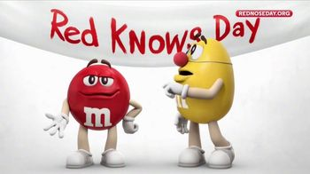 M&M's TV Spot, 'Red Nose Day' - 7 commercial airings