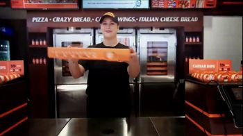 Little Caesars EXTRAMOSTBESTEST Pizza TV Spot, 'Outrageously Topped' - Thumbnail 10