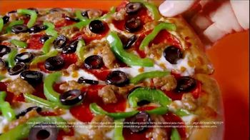 Little Caesars EXTRAMOSTBESTEST Pizza TV Spot, 'Outrageously Topped' - Thumbnail 5