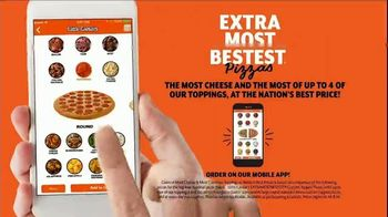 Little Caesars EXTRAMOSTBESTEST Pizza TV Spot, 'Outrageously Topped' - Thumbnail 7