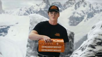 Little Caesars EXTRAMOSTBESTEST Pizza TV Spot, 'Party at the Top' - Thumbnail 6