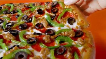 Little Caesars EXTRAMOSTBESTEST Pizza TV Spot, 'Party at the Top' - Thumbnail 9