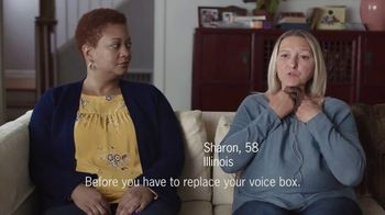 Centers for Disease Control TV Spot, 'Tiffany and Sharon's Ways to Quit'