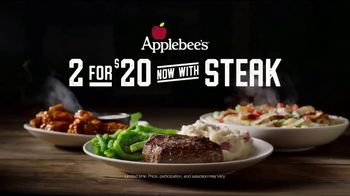 Applebee's 2 for $20 TV Spot, 'I Love You, Baby' Song by Frankie Valli