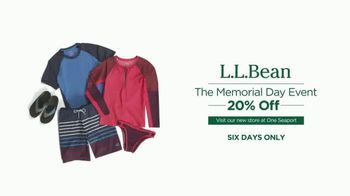 L.L. Bean Memorial Day Event TV Spot, 'Dip' - Thumbnail 9