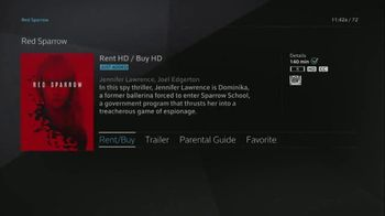 XFINITY On Demand TV Spot, 'X1: Red Sparrow' - Thumbnail 7