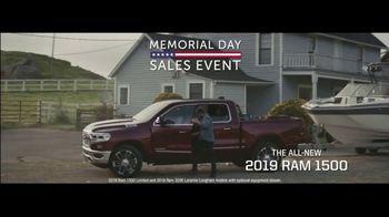 Ram Trucks Memorial Day Sales Event TV Spot, 'Great Deals' [T2] - Thumbnail 1