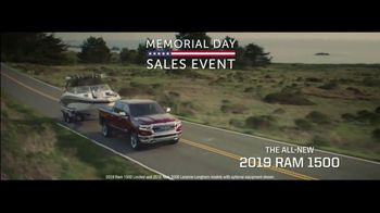 Ram Trucks Memorial Day Sales Event TV Spot, 'Great Deals' [T2]