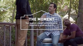 Lowe's Memorial Day Savings TV Spot, 'The Moment: Good Backyard: Patio Set' - Thumbnail 5