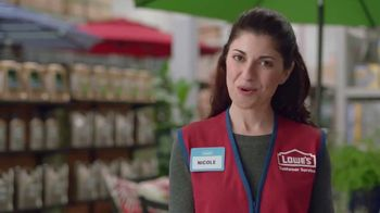 Lowe's Memorial Day Savings TV Spot, 'The Moment: Good Backyard: Patio Set' - Thumbnail 7