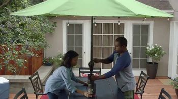Lowe's Memorial Day Savings TV Spot, 'The Moment: Good Backyard: Patio Set' - Thumbnail 8