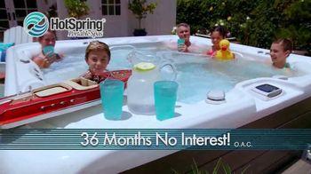 HotSpring Memorial Weekend Sale TV Spot, 'Salt Water System & Fitness Pool' - Thumbnail 3