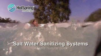 HotSpring Memorial Weekend Sale TV Spot, 'Salt Water System & Fitness Pool' - Thumbnail 4
