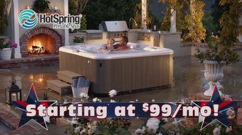 HotSpring Memorial Weekend Sale TV Spot, 'Salt Water System & Fitness Pool' - Thumbnail 7