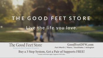 The Good Feet Store TV Spot, 'Personalized Fitting and Walk Test' - Thumbnail 9
