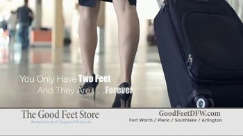 The Good Feet Store TV Spot, 'Personalized Fitting and Walk Test' - Thumbnail 3