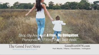 The Good Feet Store TV Spot, 'Personalized Fitting and Walk Test' - Thumbnail 7