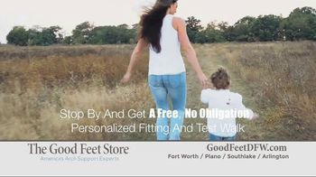 The Good Feet Store TV Spot, 'Personalized Fitting and Walk Test' - Thumbnail 8
