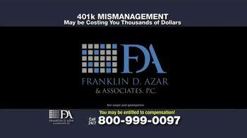 Franklin D. Azar & Associates, P.C. TV Spot, 'Cash Compensation' - Thumbnail 1