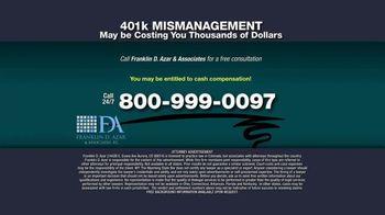 Franklin D. Azar & Associates, P.C. TV Spot, 'Cash Compensation' - Thumbnail 10