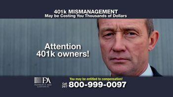 Franklin D. Azar & Associates, P.C. TV Spot, 'Cash Compensation' - Thumbnail 2