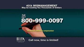 Franklin D. Azar & Associates, P.C. TV Spot, 'Cash Compensation' - Thumbnail 4