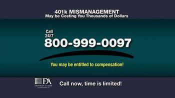 Franklin D. Azar & Associates, P.C. TV Spot, 'Cash Compensation' - Thumbnail 5