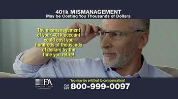 Franklin D. Azar & Associates, P.C. TV Spot, 'Cash Compensation' - Thumbnail 6