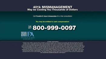 Franklin D. Azar & Associates, P.C. TV Spot, 'Cash Compensation' - Thumbnail 9
