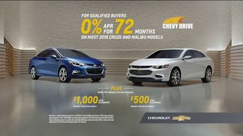 Chevrolet Memorial Day Chevy DriveEvent TV Spot, 'All of the Features'  [T2] - Thumbnail 9