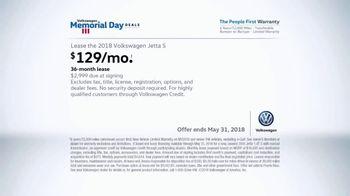 Volkswagen Memorial Day Deals TV Spot, 'Open House' [T2] - Thumbnail 9