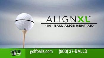 Golfballs.com TV Spot, 'Introducing AlignXL'