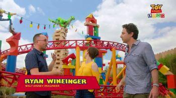 Walt Disney World TV Spot, 'ABC: Toy Story Land: Slinky Dog Dash' - 1 commercial airings
