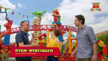 Walt Disney World TV Spot, 'ABC: Toy Story Land: Slinky Dog Dash' - 1 commercial airings