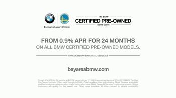 BMW Certified Pre-Owned Sales Event TV Spot, 'Wedding' [T2] - Thumbnail 9