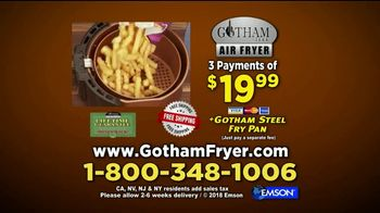 Gotham Steel Air Fryer TV Spot, 'A Healthier Way' - Thumbnail 10