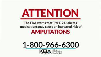KBA Attorneys TV Spot, 'Type 2 Diabetes Amputations' - Thumbnail 1