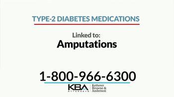 KBA Attorneys TV Spot, 'Type 2 Diabetes Amputations' - Thumbnail 2
