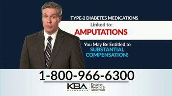 KBA Attorneys TV Spot, 'Type 2 Diabetes Amputations' - Thumbnail 3