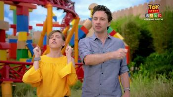 Walt DIsney World TV Spot, 'ABC: Toy Story Land' Ft. Zach Braff, Eden Sher - Thumbnail 9
