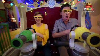 Walt DIsney World TV Spot, 'ABC: Toy Story Land' Ft. Zach Braff, Eden Sher - 1 commercial airings