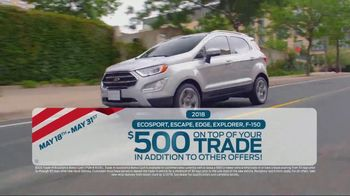 Ford Memorial Day Sales Event TV Spot, 'Savings on Savings' [T2] - Thumbnail 4