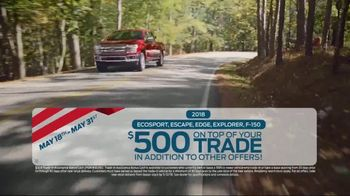 Ford Memorial Day Sales Event TV Spot, 'Savings on Savings' [T2] - Thumbnail 5
